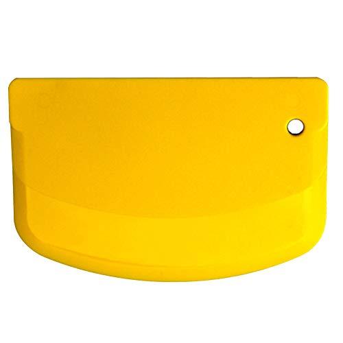 Raspador de masa, flexible y curvado, espátula profesional para tartas, cortador de...