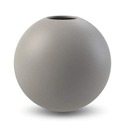 Cooee Design Ball Vase 20cm Grey