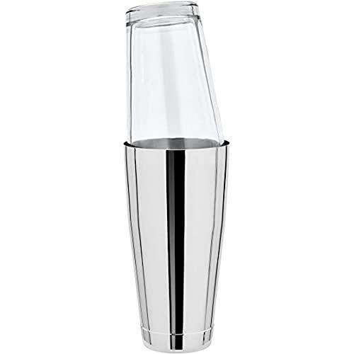 Boston Shaker complet avec verre original en acier inoxydable 828 ml. (Divers)