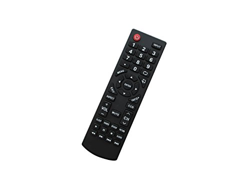 Universal Replacement Remote Control Fit for DYNEX DX-LCD26-09 DX-L32110A DX-L4010A DX-L4210A DX-LDVD1910A DX-LDVD2210A RC-401-0A DX-19L150-A11 DX-37L130-A11 DX-37L150-A11 Plasma LCD LED HDTV TV
