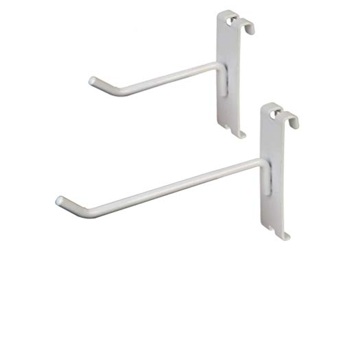 Only Garment Racks Commercial Grade Grid Panel Hooks – Heavy Duty Gridwall Hooks for Any Retail Display, Assortment Pack of 25 - 4