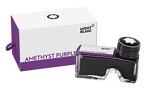 Montblanc Ink Bottle Lavender Purple 105196 – Premium-Quality Refill Ink in Dark Purple for Fountain Pens, Quills, and Calligraphy Pens – 60ml Inkwell