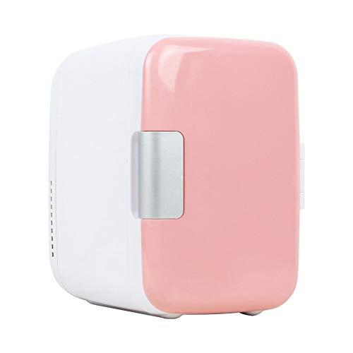 Tragbarer Mini-Kühlschrank mit 4-Liter-Antrieb und thermoelektrischem Systemkühler und -wärmer für Autos, Privathäuser, Büros und Schlafsäle