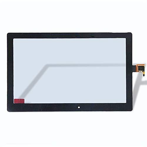 Monitor de Pantalla Plana 10.1 Pulgadas de la Pantalla táctil Panel de Vidrio Piezas de Recambio/Fit for Lenovo Tab 2 A10-30 Yt3-X30 X30F TB2-X30F TB2 X30L A6500 (Color : Black)