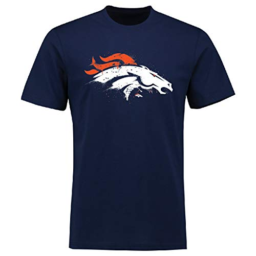 Fanatics Splatter T-Shirt - NFL Denver Broncos Navy - 3XL