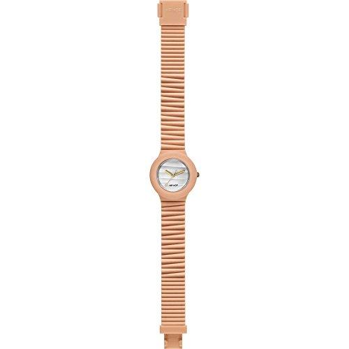 Hip Hop Watches - Orologio da Donna Apricot ice HWU0511 - Collezione Sensoriality - Cinturino in Silicone - Impermeabile 5 ATM - Cassa 32mm - Arancio/Albicocca