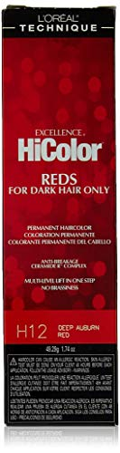L'Oreal Excellence HiColor Deep Auburn Red