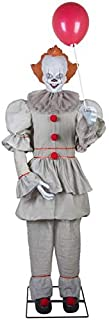 Gemmy 6' Tall Life Size Animated Pennywise Halloween Prop