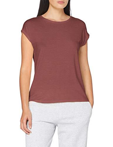VERO MODA Damen VMAVA Plain SS TOP GA NOOS T-Shirt, Rose Brown, XS