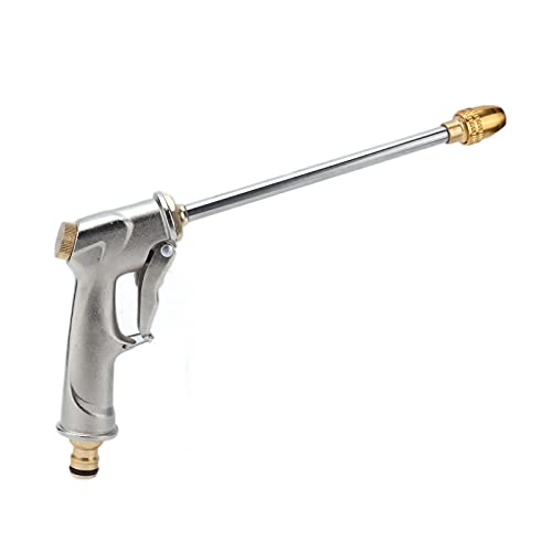 SALALIS Pistola De Espuma para Lavado De Coches, Varilla De Lavado A Presión De Alta Presión Ajustable De Aleación De Aluminio para Limpiador De Canalones para Riego De Jardín