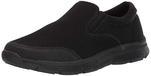 Amazon Essentials Men's Nolte Shoe, Black, 12 Medium US