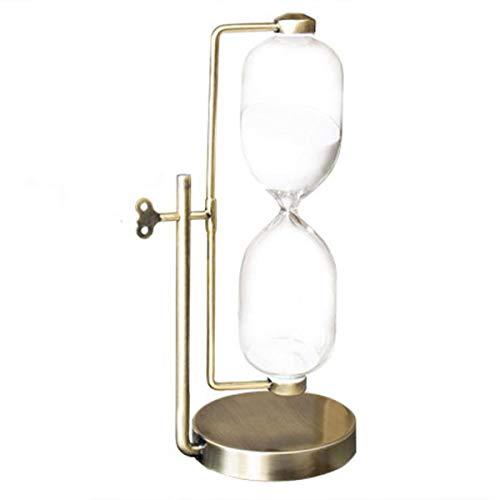 JINSUO NWXZU Eieruhr, dekorative Ornamente Wohnaccessoires, 30/60-Minuten-Timer, kreatives Geburtstagsgeschenk, Golden Age schönes Geschenk (Size : 32.5 * 16.5 * 12cm)