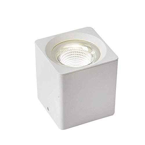 Wlnnes Cuadrado blanco LED del proyector del techo de montaje empotrado Downlight...