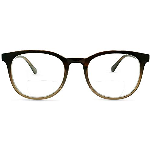 In Style Eyes Envy Classic BiFocal Reading Glasses (Brown 3.50)