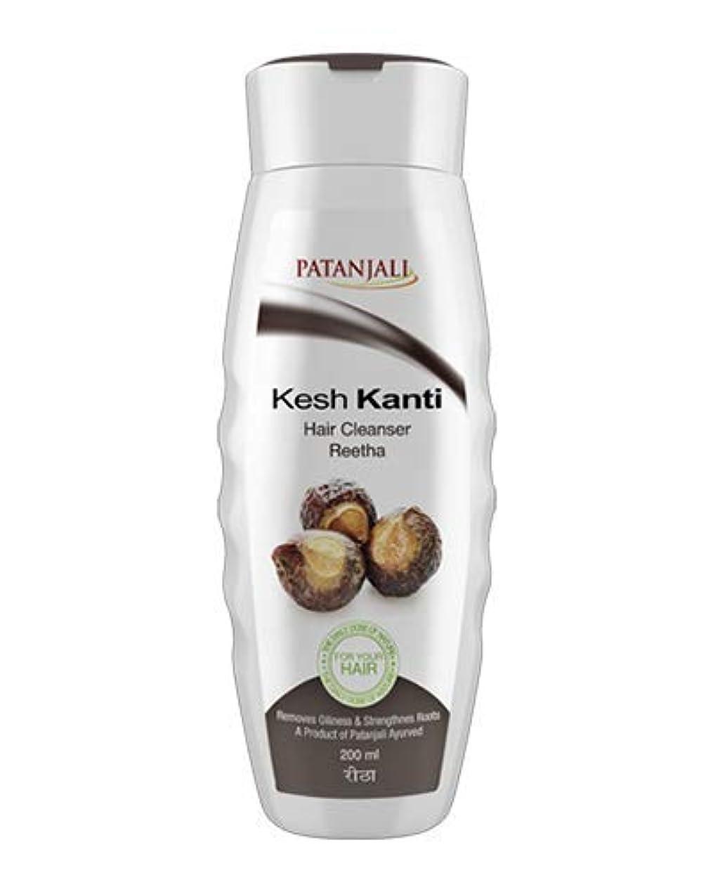 に同意する冷ややかな大使Patanjali Kesh Kanti Reetha Hair Cleanser Shampoo, 200ml