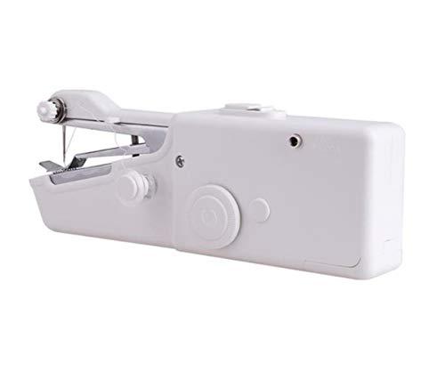 K-ONE - Máquina de coser portátil mini eléctrica para coser a mano, herramienta de costura práctica para ropa de tela, 1 juego