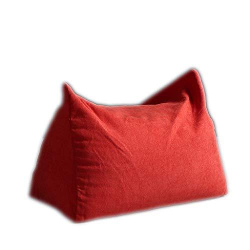 Soft Bean Bag 58 * 30 * 20cm huis woonkamer enkele kleine bank kussen voetbank Leisure stoel luie stoel zitzak bank stoel Verplaatsbaar