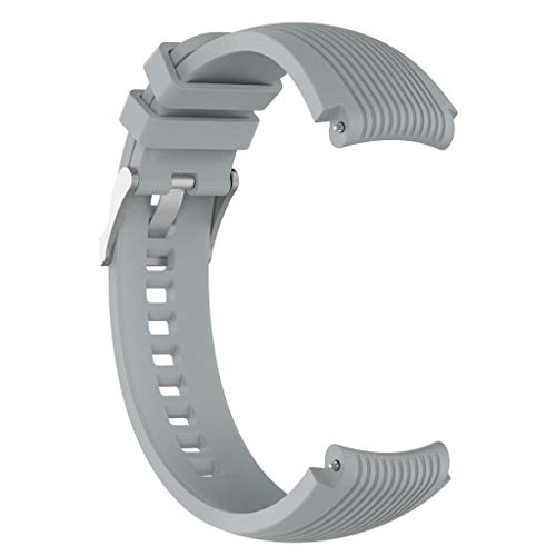 kdjsic Correa de muñeca de Silicona de 22 mm para Reloj Gear S3 Frontier/Classic Gear 2 R380 de 46 mm