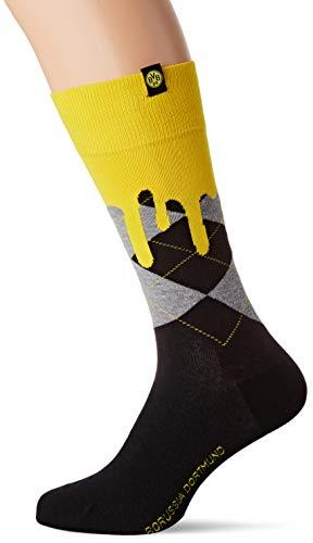 FALKE Herren BVB Socke, Black, 40-46