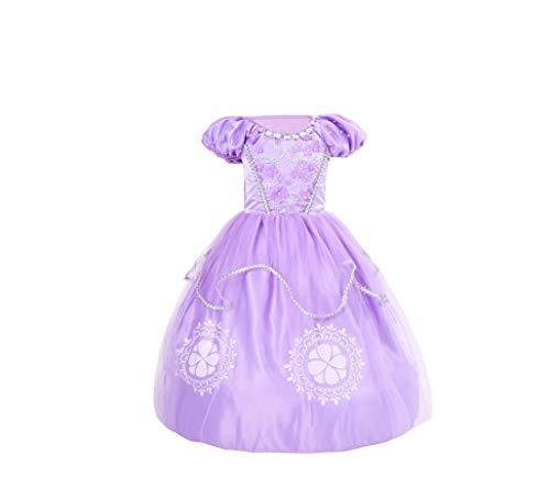 Best Home & Baby Disfraz de Princesa Sofía para niñas