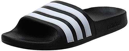 Adidas Adilette Aqua, Ciabatte Unisex-Adulto, Core Black Cloud White, 35 EU