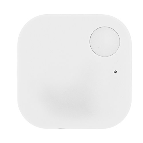 Bluetooth Smart Tracker Localizzatore GPS Positioning Indicator Key Finder Phone Finder per iOS/Android(White)