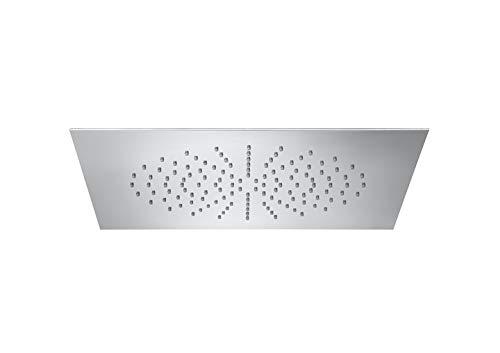 Roca - Rociador de acero inoxidable empotrable de techo cuadrado - Serie RainDream - A5B3250C00