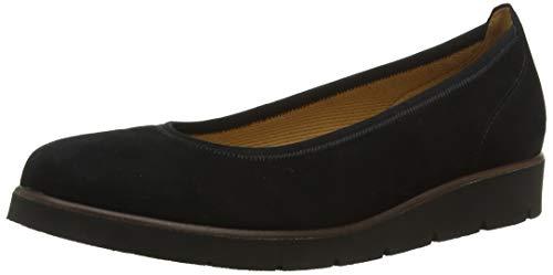 Gabor Shoes Gabor Casual, Ballerines Femme, Noir (Schwarz 17), 44 EU