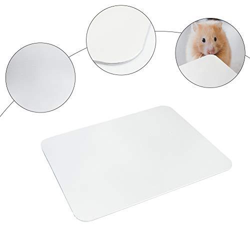 Furpaw Kühlmatte für Kleintiere, Kühlplatte Kühlpad Pet Mat im Aluminiumlegierung Selbstkühlend, Kühlmatte Sommer Chinchilla Hamster Eichhörnchen Igel - 25 * 21cm