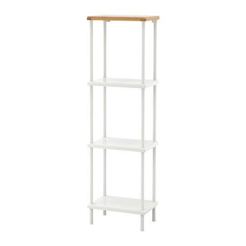 ikeaa IKEA Regal weiß Bambus Muster 20206.261111.3814