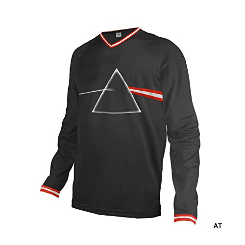 Uglyfrog Herren Dünn T-Shirt Motorradjacke mit Protektoren - Textil Motorrad Jacke aus Cordura - Männer MTB Downhill Jersey Atmungsaktive