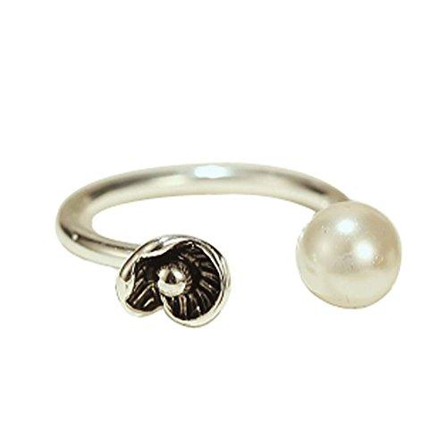 Rétro Bague Fashion Silver Ring Ring Tail Simple ouverture Anneau Afflux de