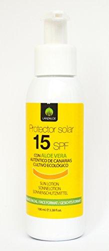 Lanzaloe Protecteur Solaire SPF 15 100ml