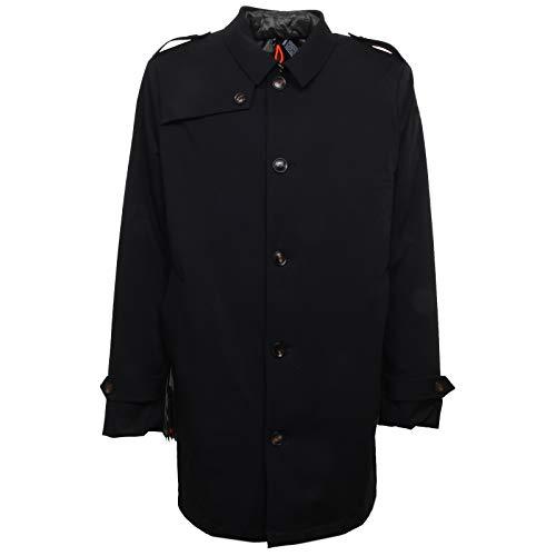 ROBERTO RICCI DESIGNS F8656 Cappotto 3 in 1 uomo RRD Rain Trench Black/Green 3in1 Jacket Coat Man [52]