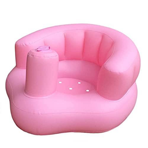Aufblasbare Baby-Sofa Baby-netter beweglicher Stuhl für das Spiel von Baden Boden Strand Pool Rosa für Außenruderboote Zubehör