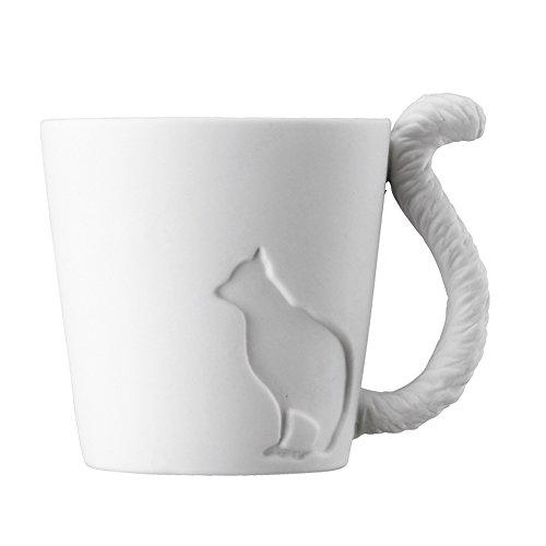 Tasse - Teebecher - Mugtail - Katze - Teelicht