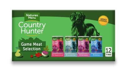 Natures Menu Country Hunter Dog Game Meat Selection Tins 12x400g