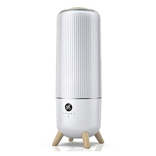 Luftbefeuchter 6L große Kapazitäts-Luftbefeuchter, leiser Betrieb, Hygrostat und Wasserlos automatische Abschaltfunktion, Timing-Befeuchter for Schlafzimmer, Babyzimmer, Wohnzimmer Ultraschallbefeucht