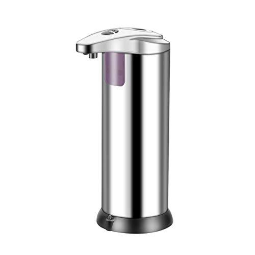 Banbie8409 Edelstahl Hands Free Automatischer IR Sensor Seifenspender (Silber)