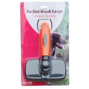 Holland Perfect Brush-Cardateur pour Grands Chiens : 9,5 cm, Haute qualité, 9,5 cm, 10 x 5 x 5 cm