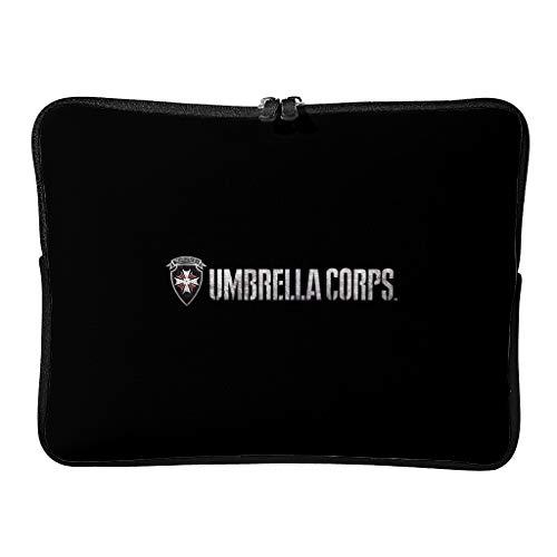 Regular Corporation of Umbrella Laptop Bags Único Multifuncional - Horror Scary Tablet Sleeve Adecuado para Viaje de Negocios, blanco (Blanco) - XJJ88-DNB-8