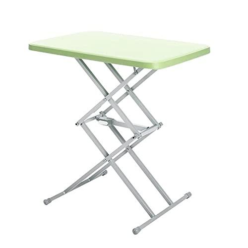 BIAOYU Mesa plegable para ordenador portátil, plegable, con tapa abatible y patas para escritorio, para casa, oficina, dormitorio, color