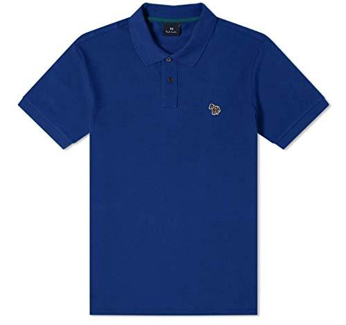 Paul Smith Zebra Badge - Polo con logo, colore: Blu inchiostro Blu XS