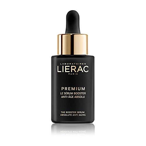 Lierac Premium Siero Booster Viso anti Età con Acido Ialuronico, per Tutti i Tipi di Pelle, Formato da 30 ml