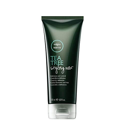 Paul Mitchell Tea Tree Styling Wax - Shaping-Paste verleiht Struktur und Glanz ideal für kurzes Haar, professionelles Hair-Styling in Salon-Qualität, 200 ml