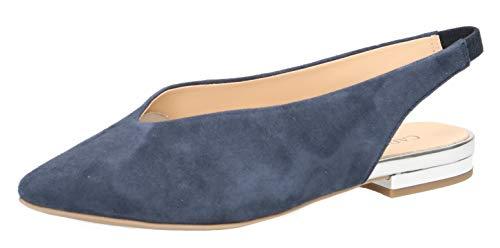 CAPRICE 29401-22 Damen Slingpumps,Slingback Pumps,Leder,modisch,Fashion,(857) Ocean Suede,38 EU / 5 UK