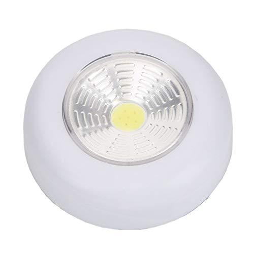 RHNE Luz LED Debajo del gabinete con Adhesivo Adhesivo Interruptor de Sensor táctil Luz de Golpe Sótano Garaje Luz Resistente a Golpes Blanco