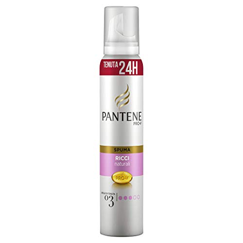PANTENE Spuma ricci naturali 3 forte - Die Haarfarbstoffe
