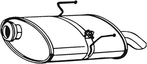 Bosal 190-343 Silencieux arrière