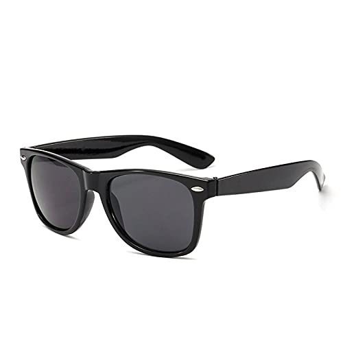 Gafas de sol de uñas de arroz de moda para hombre Midotudi gafas de sol de personalidad gafas de sol, Caja negra.,